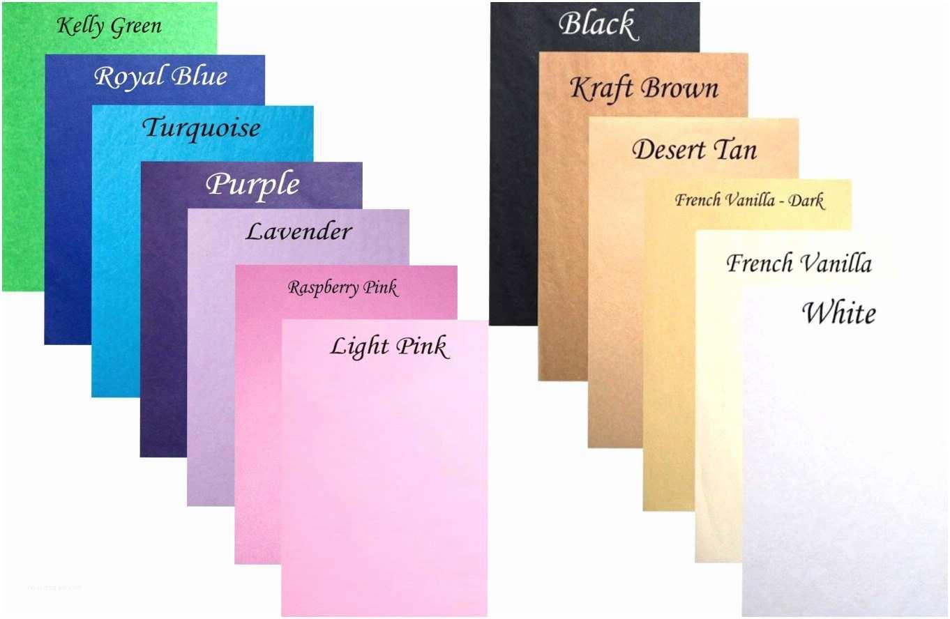Tissue for Wedding Invitations 16 Sample Sheets Custom Cut Wedding Invitation Insert