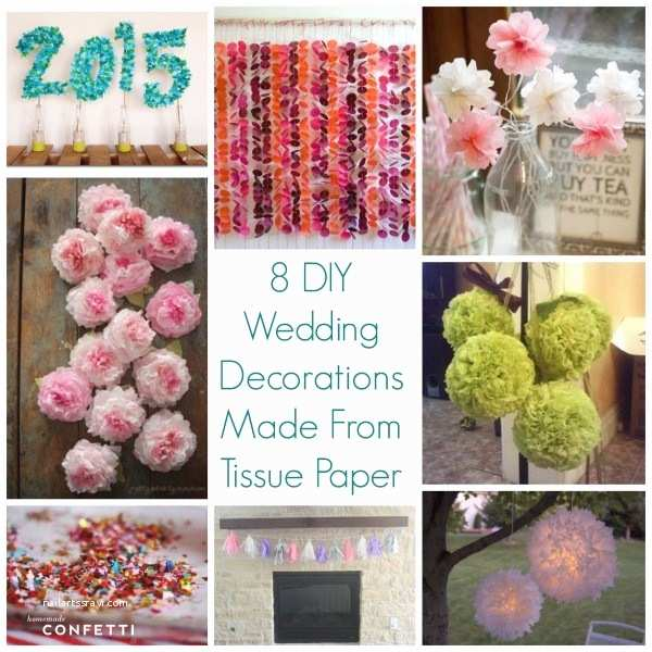 Tissue For Wedding Invitations 8  Wedding Decorations Made From Tissue Paper –