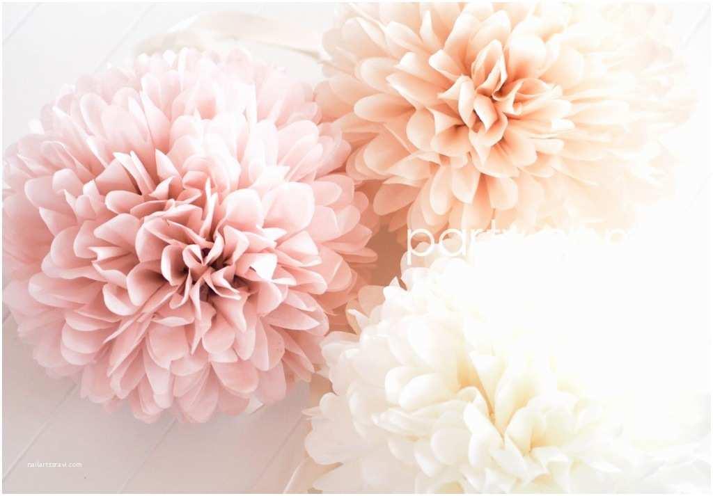 Tissue for Wedding Invitations Diy Hanging Tissue Paper Flowers Tutorial