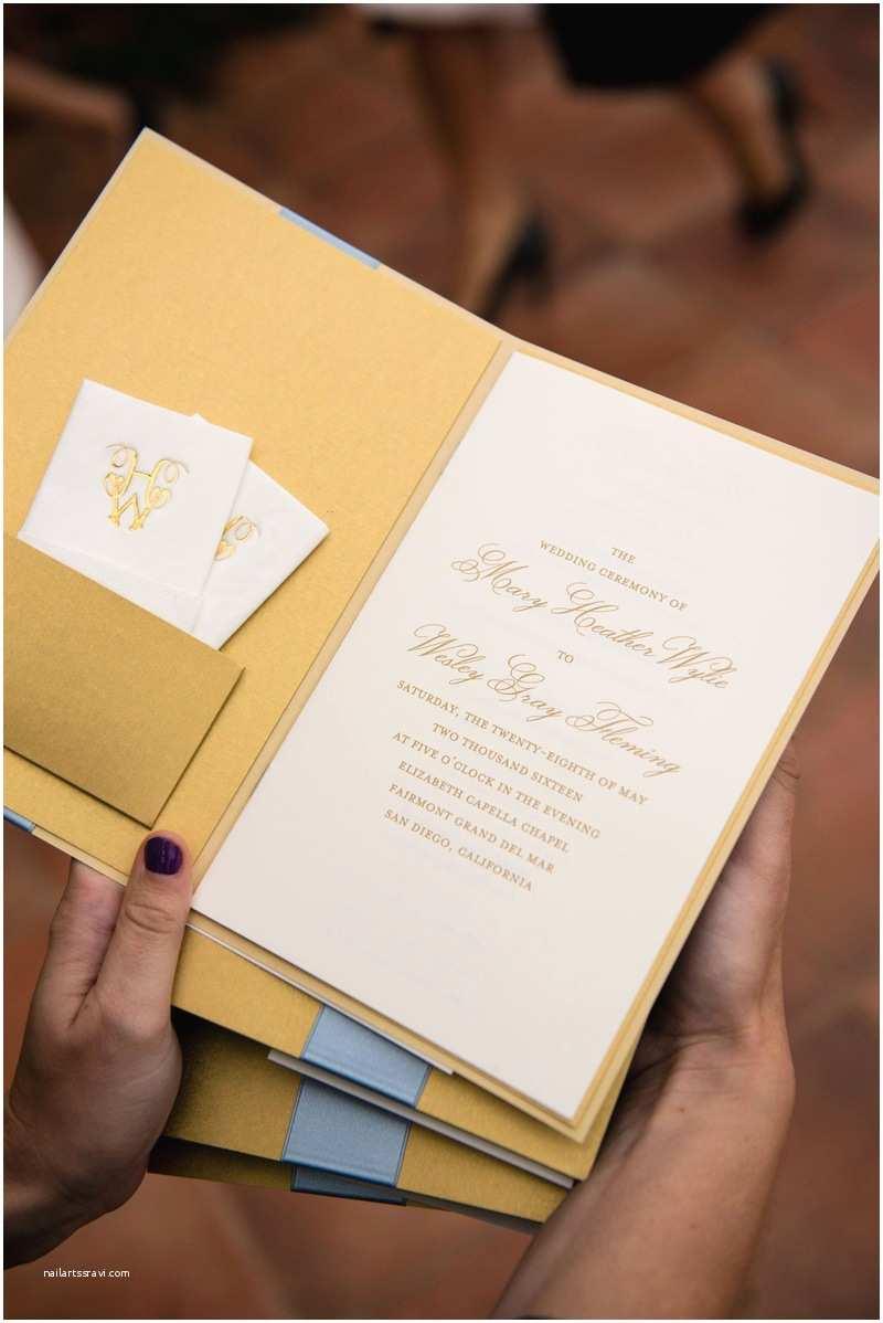 Tissue For Wedding Invitations Invitations & More S Ceremony Program With