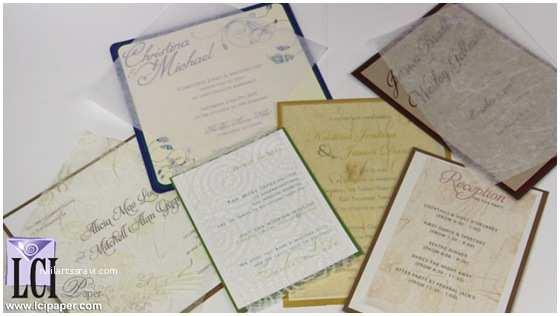 Tissue for Wedding Invitations Wedding Invitation Tissue