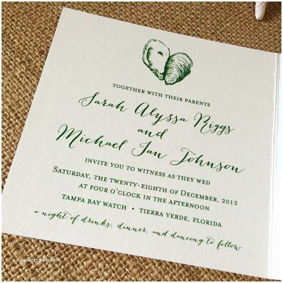 Together with their Parents Wedding Invitation Informal Wedding Invitation Wording to Her with their