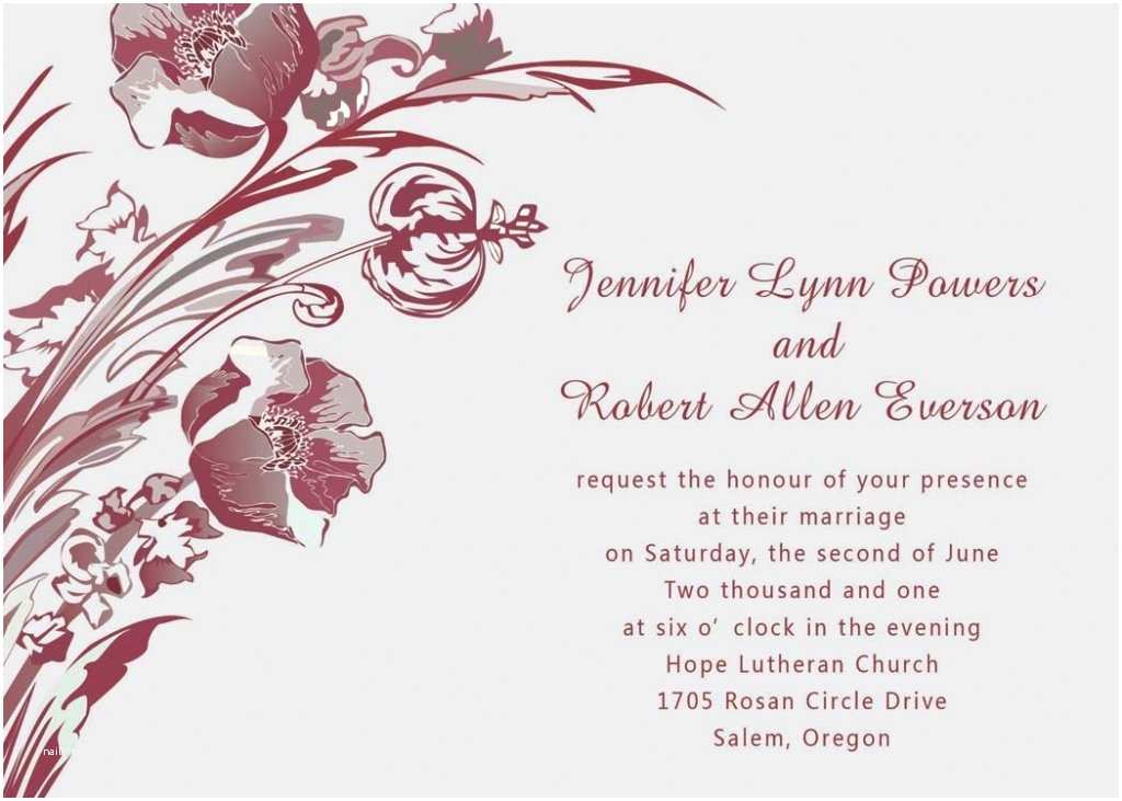 Together with their Parents Wedding Invitation to Her with their Families Wedding Invitation Wording