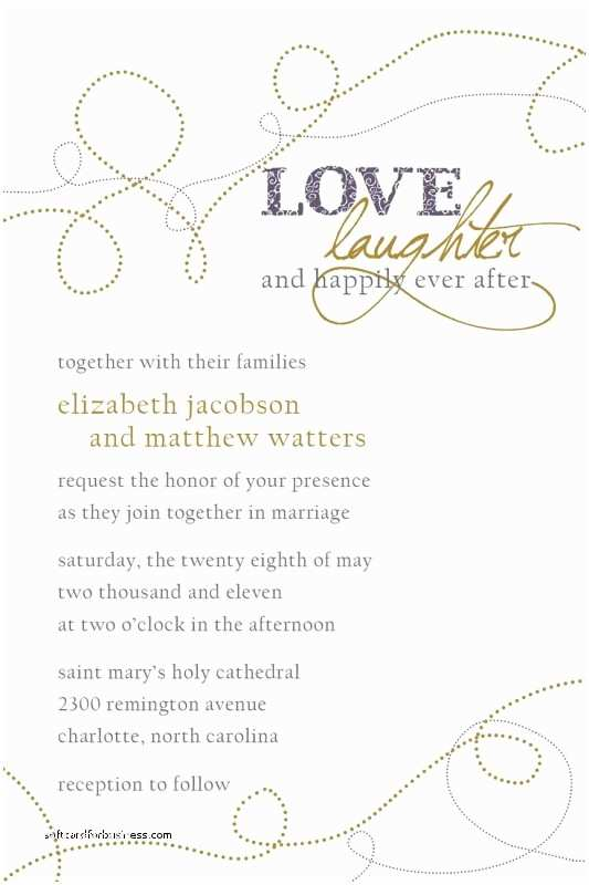 Together with their Parents Wedding Invitation Wedding Invitation Lovely Wedding Invitation Wording