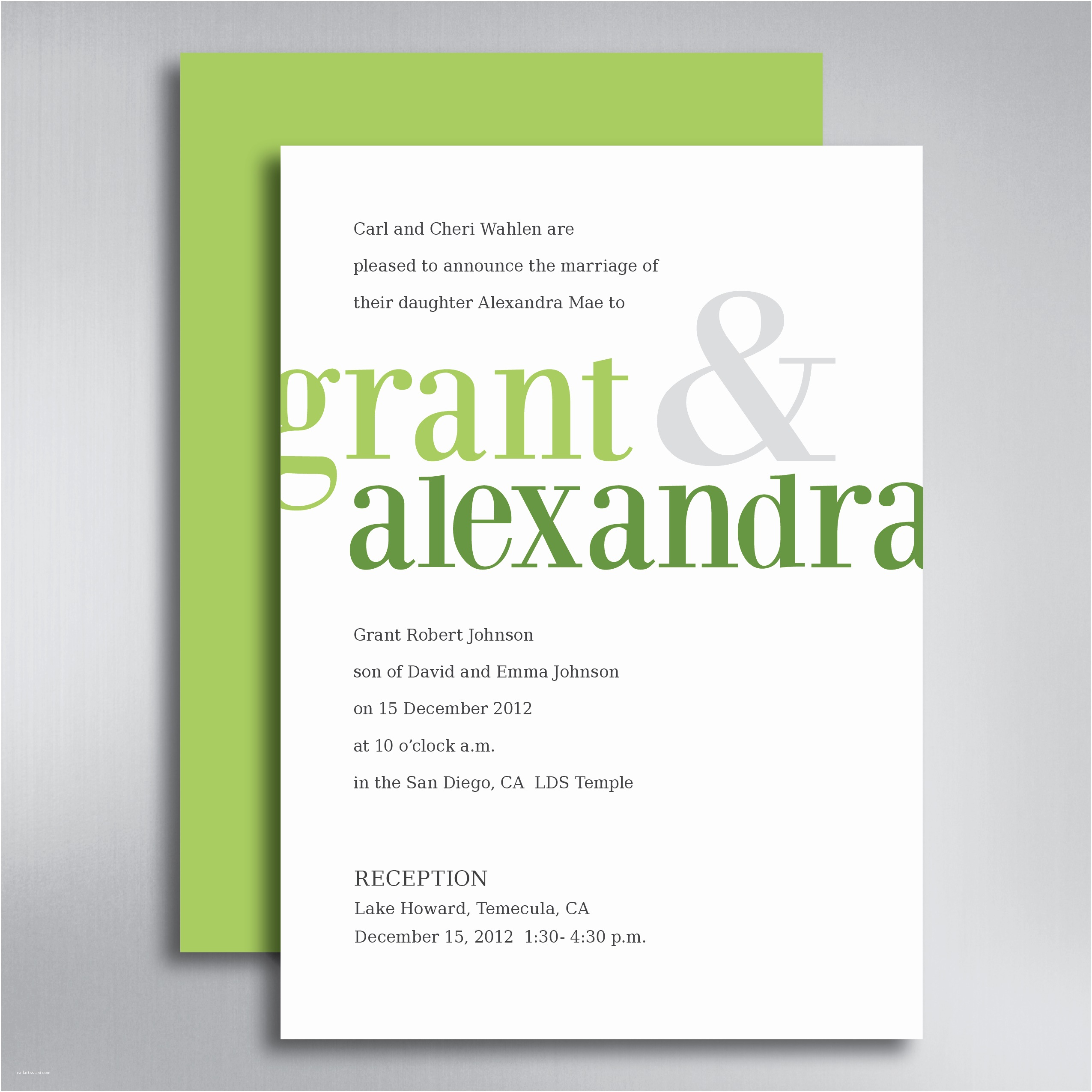 Top Wedding Invitation Designers Pinterest Embed White and Green Design Bined