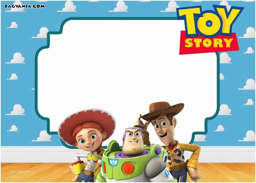 Toy Story Birthday Invitations Free Printable toy Story Birthday Invitations – Bagvania