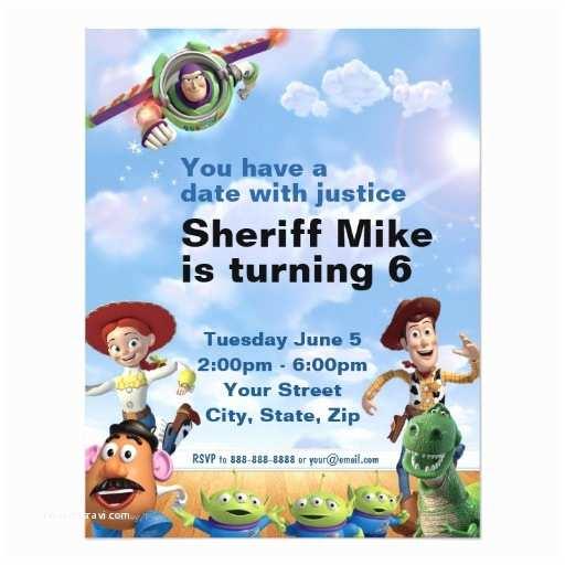 Toy Story Birthday Invitations toy Story Birthday Invitation