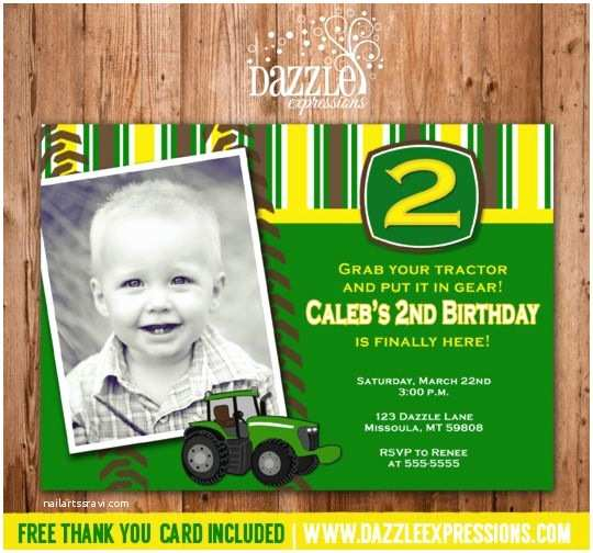 Tractor Birthday Invitations 1000 Ideas About Tractor Birthday Invitations On
