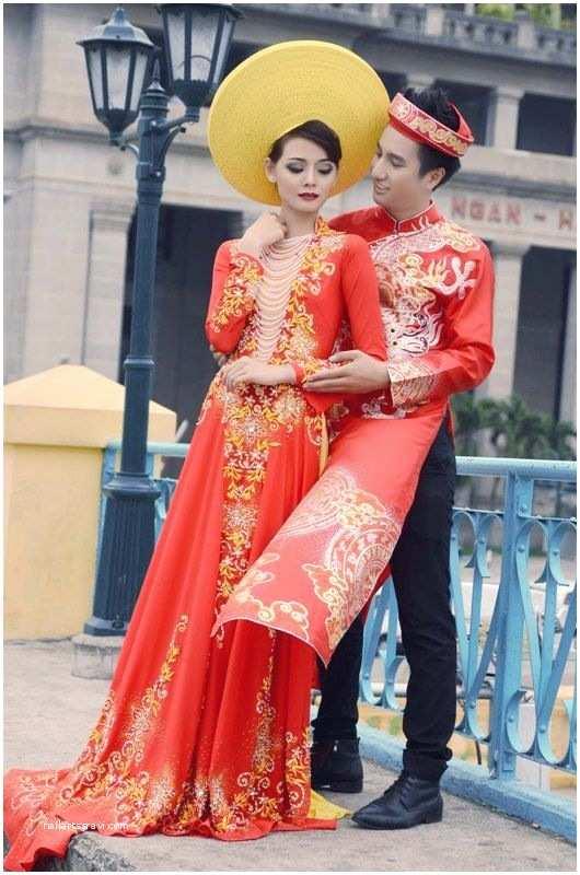 Traditional Vietnamese Wedding Invitations Vietnamese Wedding Dress Vietnamese English