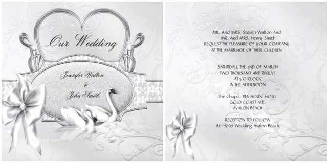 Traditional Wedding Invitation Wording Traditional Wedding Invitation Wording – How to Write