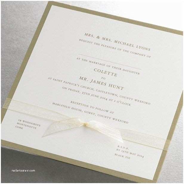 Traditional Wedding Invitation Wording Traditional Wedding Invitation Wording