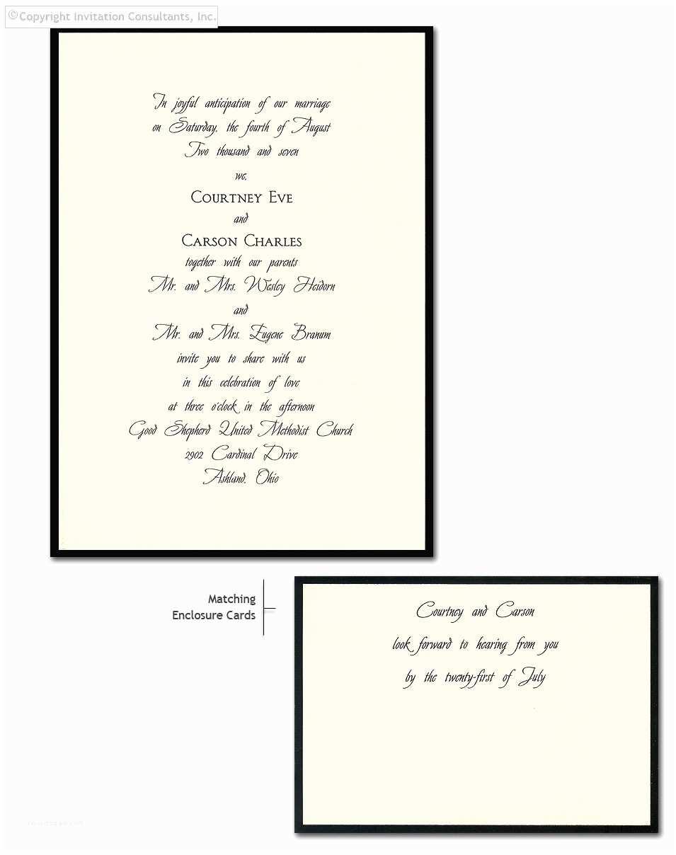 Traditional Wedding Invitation Wording Wedding Invitation Non Traditional Wording Samples