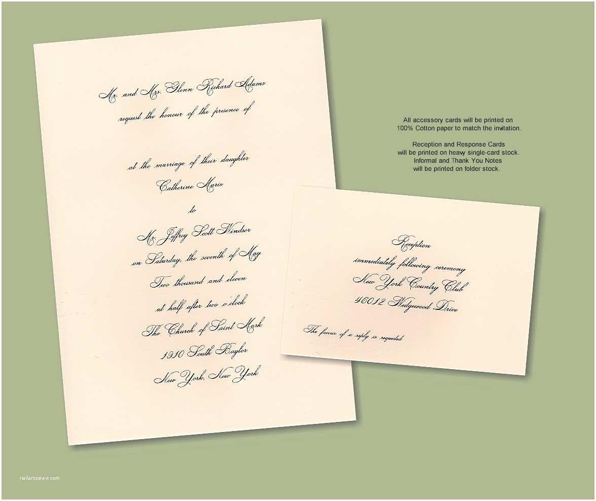 Traditional Wedding Invitation Wording Wedding Invitation Traditional Wording Samples Yaseen for