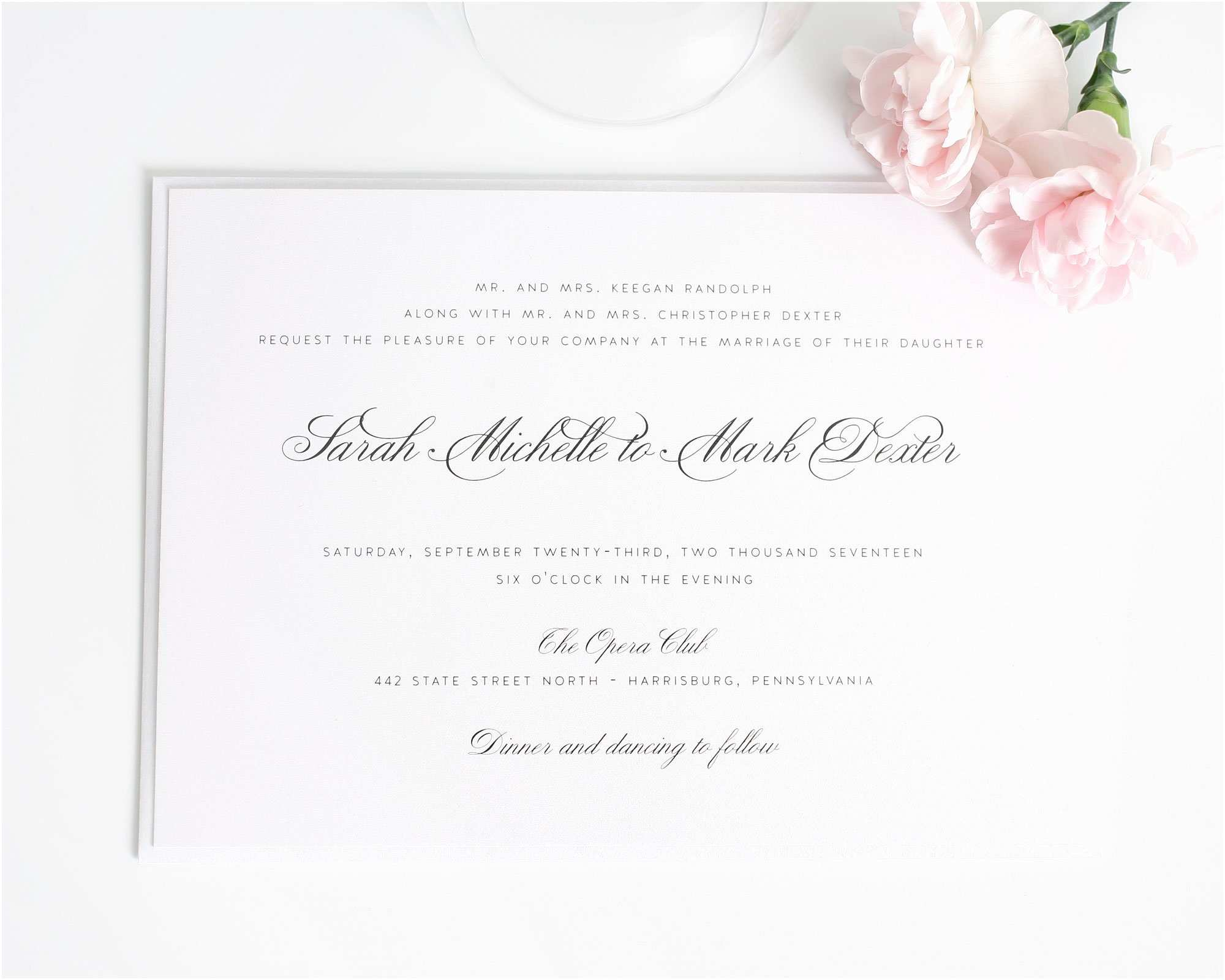 Traditional Wedding Invitations Traditional Wedding Invitations