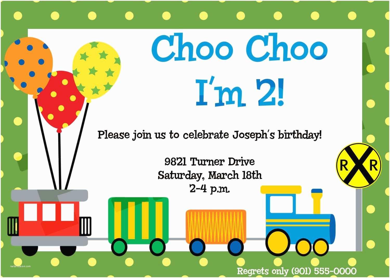 Train Birthday Invitations Birthday Invitations Train Birthday Invite Invite Card