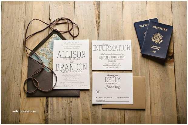 Travel themed Wedding Invitations 7 Inspiring Wedding Invitation Ideas north West Brides