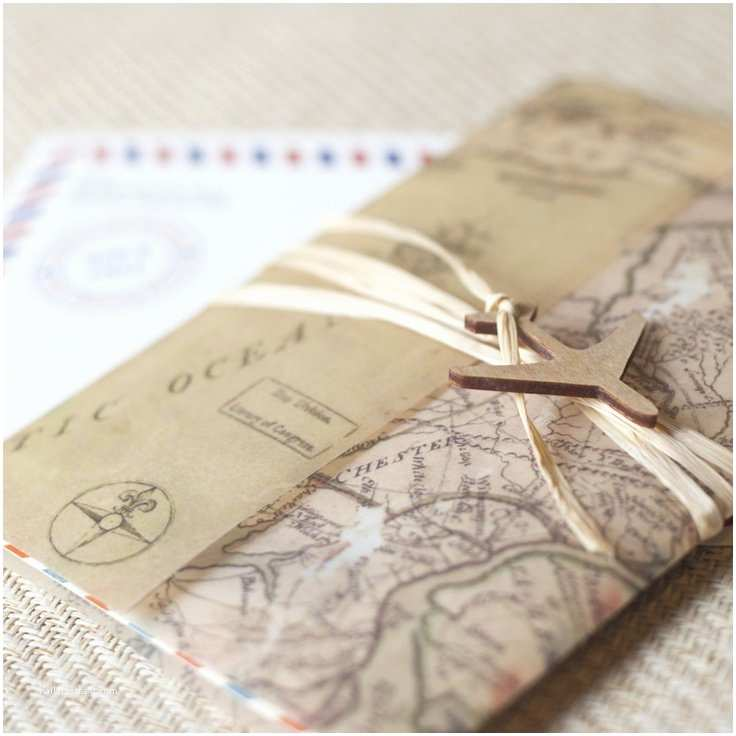 Travel themed Wedding Invitations Travel themed Wedding Cards