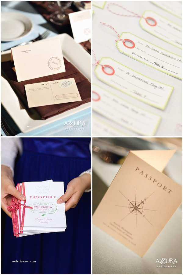 Travel themed Wedding Invitations Vineeta S Blog Bush Wedding Table Numbers Add A Cute