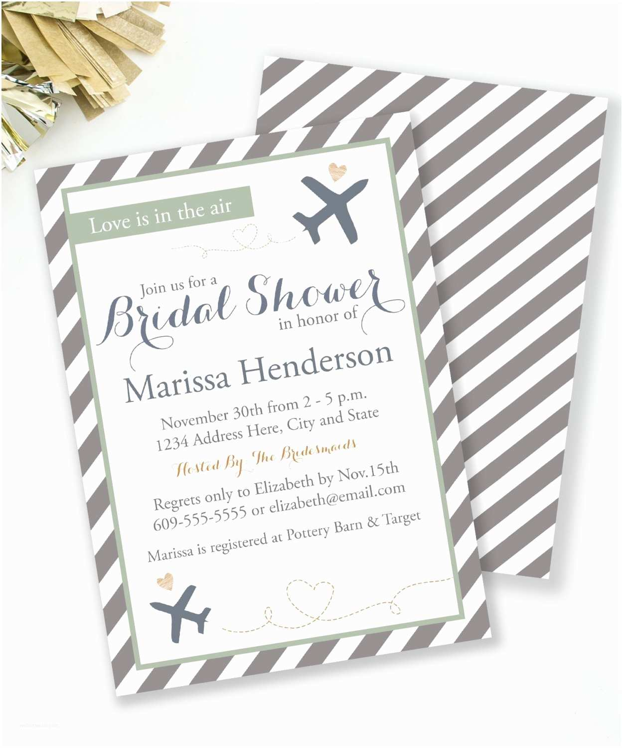 Travel themed Wedding Shower Invitations Travel Bridal Shower Invitation Travel theme Shower