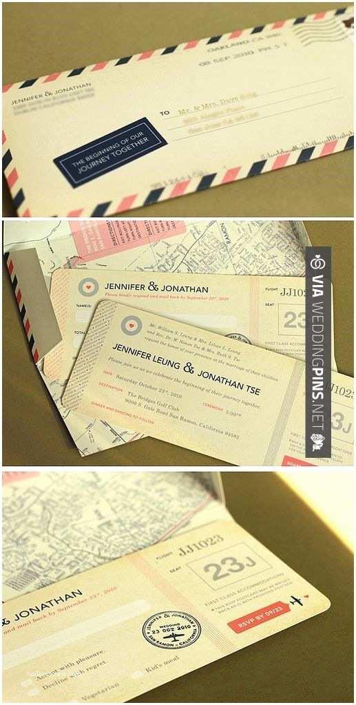 Travel Wedding Invitations Idee Invitations Pour theme Voyage