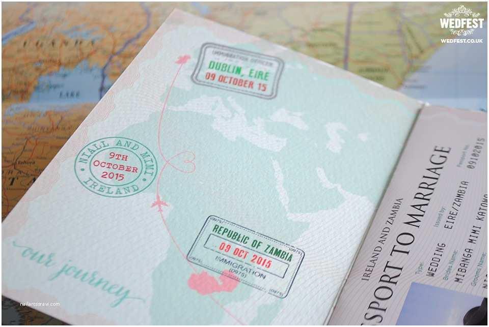 Travel Wedding  Passport Wedding