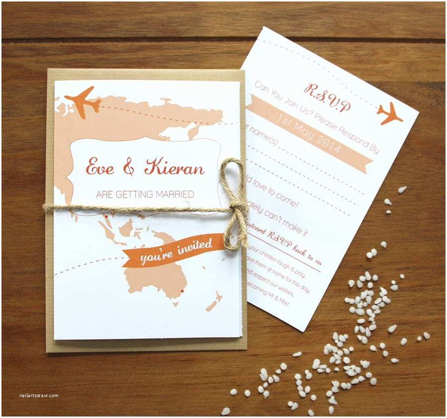 Travel Wedding Invitations Travel Booklet Wedding Invitations By Rodo