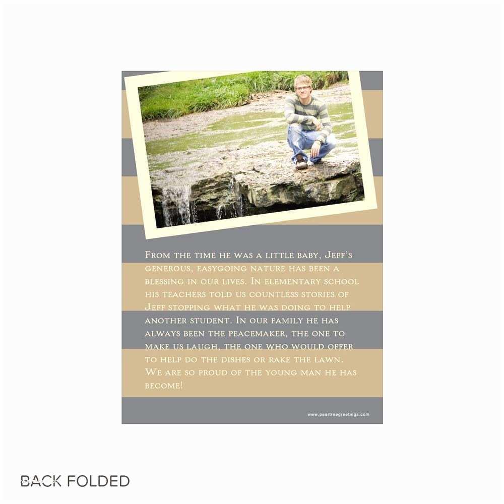 Tri Fold Graduation Invitations Storybook Tri Fold