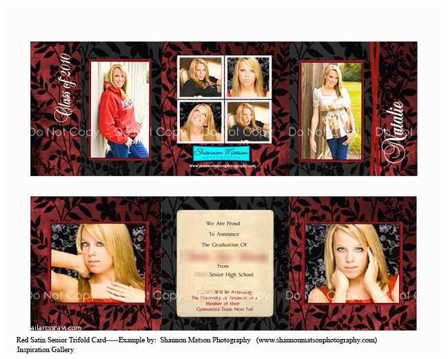 Tri Fold Graduation Invitations Tri Fold Graduation Invitations Template