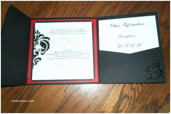 Tri Fold Wedding Invitations Our Diy Tri Fold Invitations