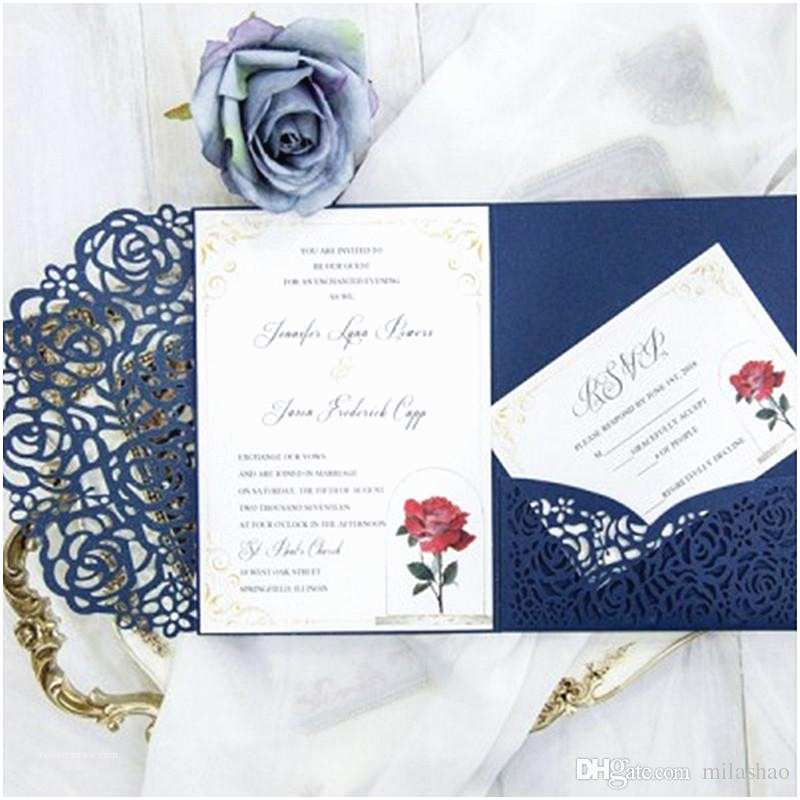 Tri Fold Wedding Invitations with Pocket Tri Fold Pocket Wedding Invitation Card with Rsvp Envelope