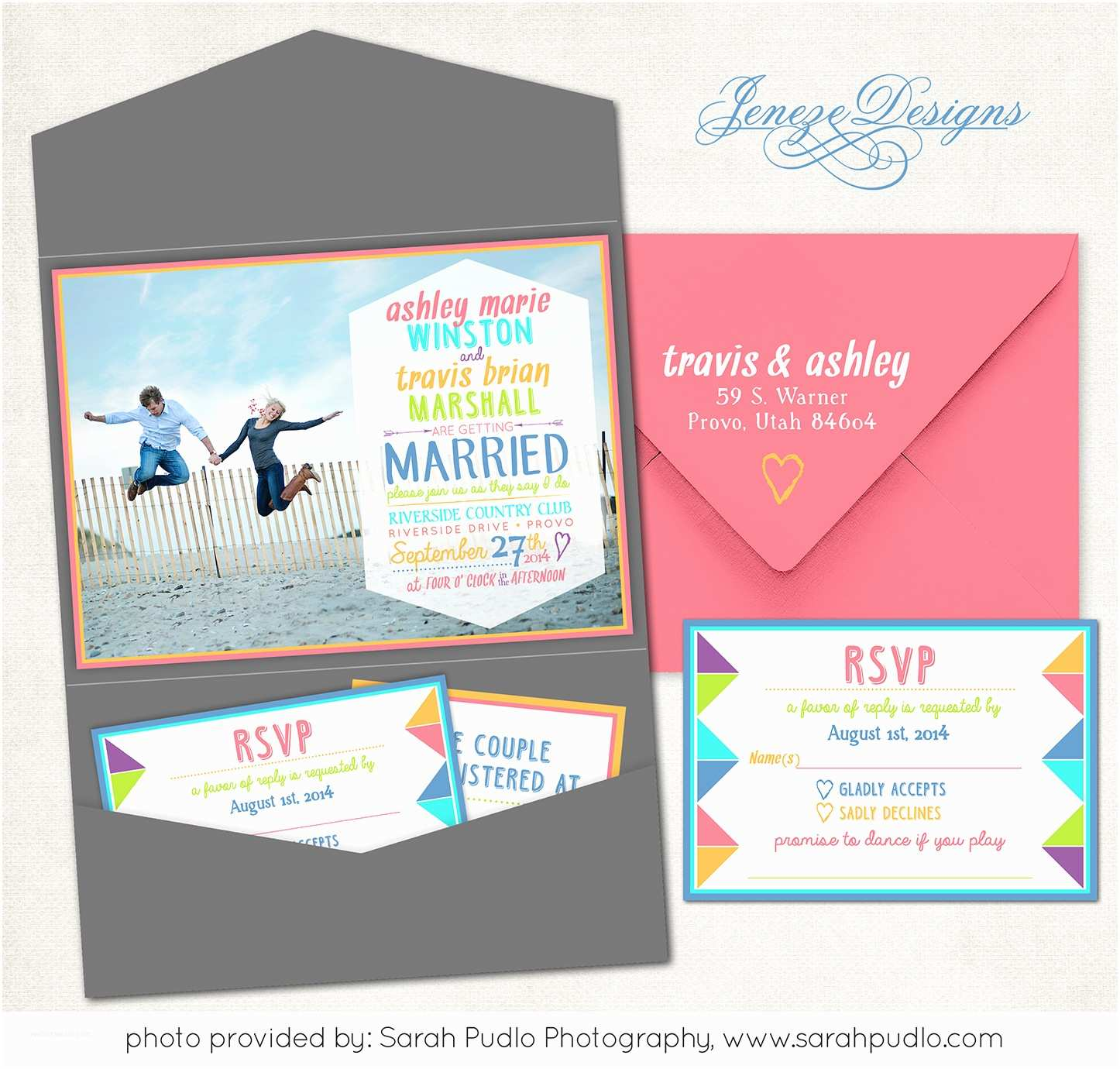 Tri Fold Wedding Invitations with Pocket Tri Fold Wedding Invitations with Pocket