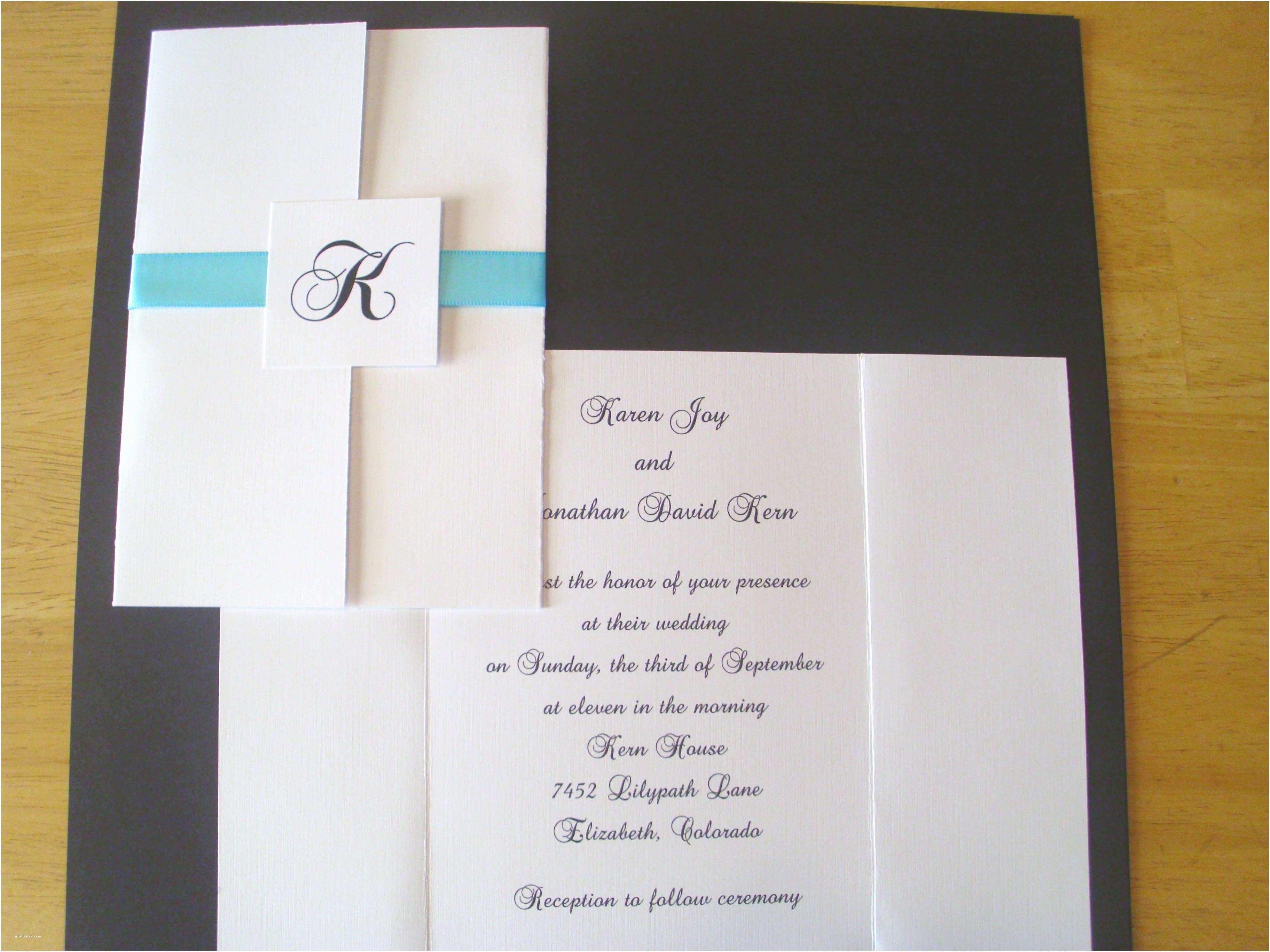 Tri Fold Wedding Invitations Wonderful Tri Fold Wedding Invitations