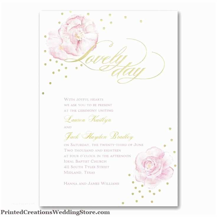 Truly Romantic Wedding Invitations 91 Best Pink Wedding theme Images On Pinterest