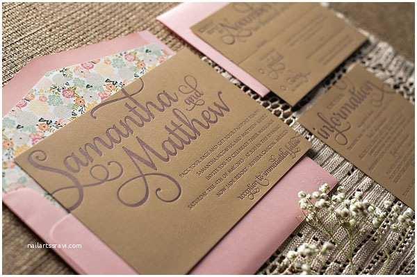 Truly Romantic Wedding Invitations Romantic Rustic Wedding Invitations Invitation Crush