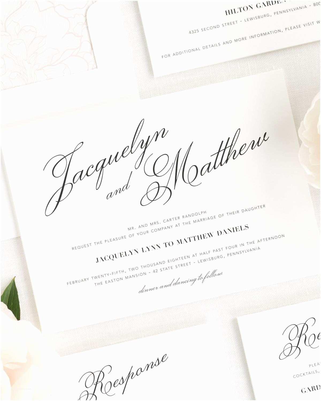 Truly Romantic Wedding Invitations Vintage Romance Wedding Invitations Wedding Invitations