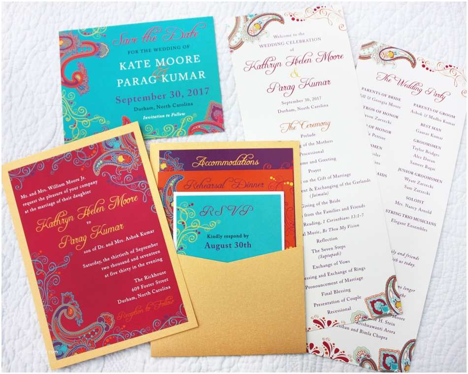 Turquoise and Hot Pink Wedding Invitations Swirls and Scrolls Archives Emdotzee Designs