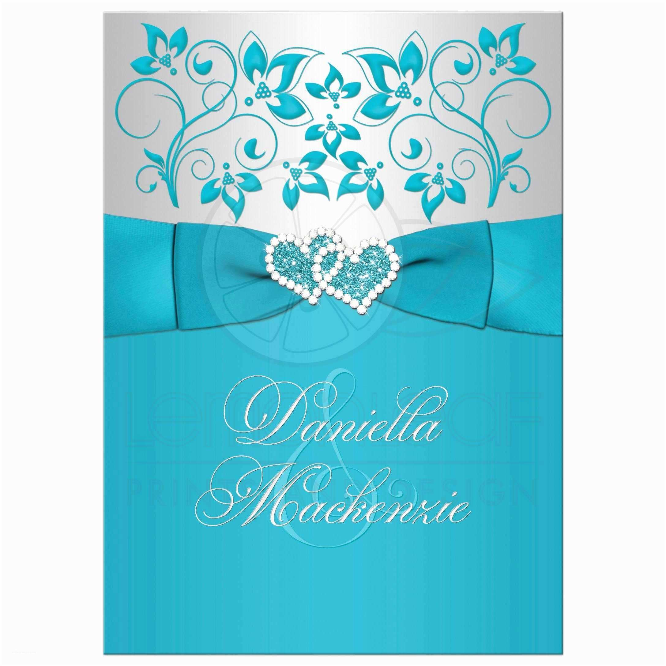 excellent turquoise wedding invitations