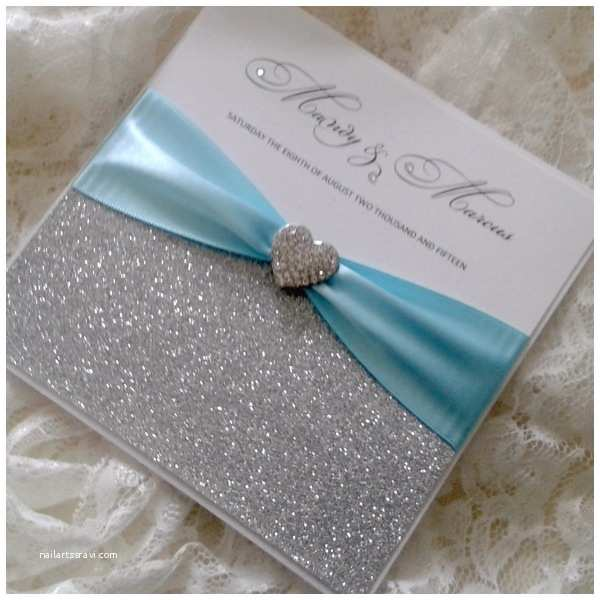 Turquoise Wedding Invitations Wedding Invitations Turquoise and Silver