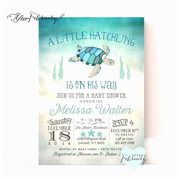 Turtle Baby Shower Invitations 25 Best Ideas About Turtle Baby Showers On Pinterest