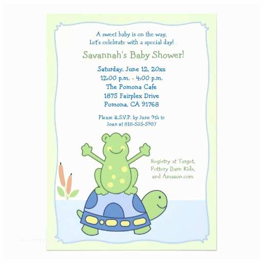 Turtle Baby Shower Invitations 80 Turtle theme Baby Shower Invitations & Announcement
