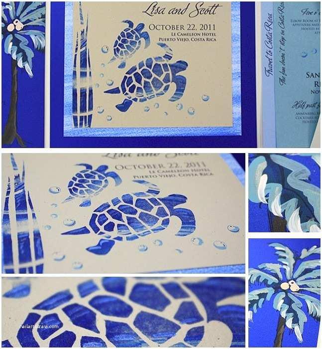 Turtle Wedding Invitations Sea Turtle Wedding Invitation Inspiration Archives