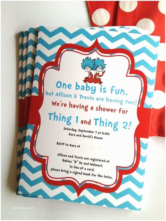 Twin Baby Shower Invitations Baby Shower Ideas for Twins