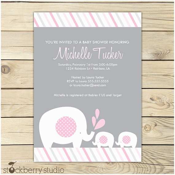Twin Baby Shower Invitations Girl Twins Baby Shower Invitation Printable Twin