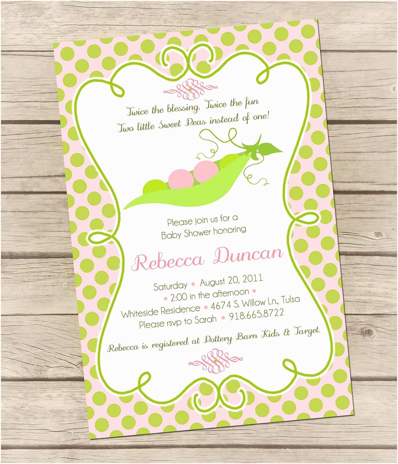 Twin Baby Shower Invitations Printable Twins Baby Shower Invitations