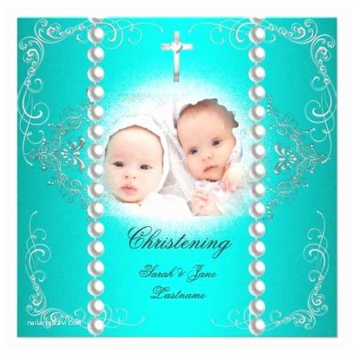 Twin Baptism Invitations 19 Best Images About Baptism Invitations for Twins On
