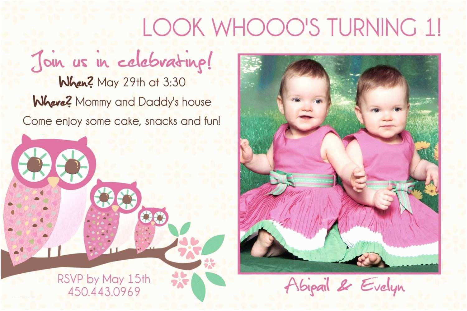 Twin Baptism Invitations Twin Baptism Invitations – Gangcraft