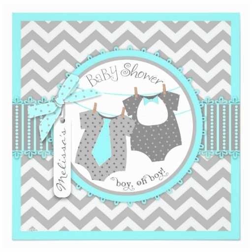 Twin Boy Baby Shower S Twin Boys Tie Bow Tie Chevron Print Baby Shower