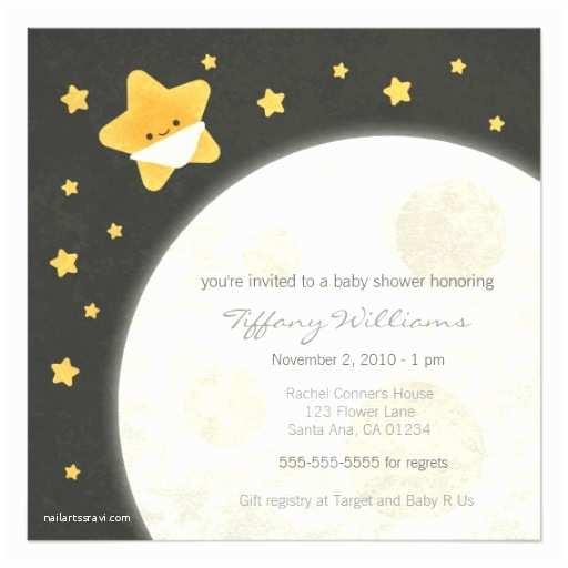 Twinkle Twinkle Little Star Baby Shower Invitations Twinkle Little Star Baby Shower Invitation