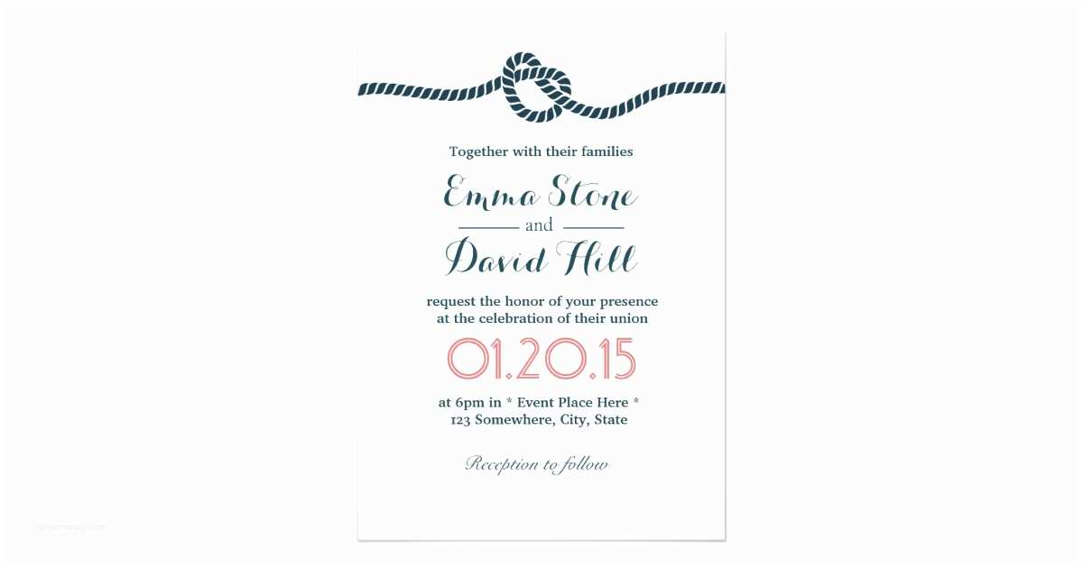 Tying the Knot Wedding Invitations Classy Tying the Knot Wedding Invitations