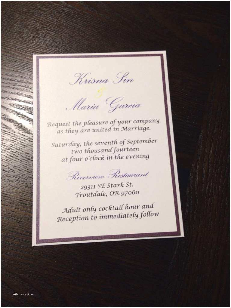 Typical Wedding Invitation Size Make Your Own Standard Wedding Invitation Size Free